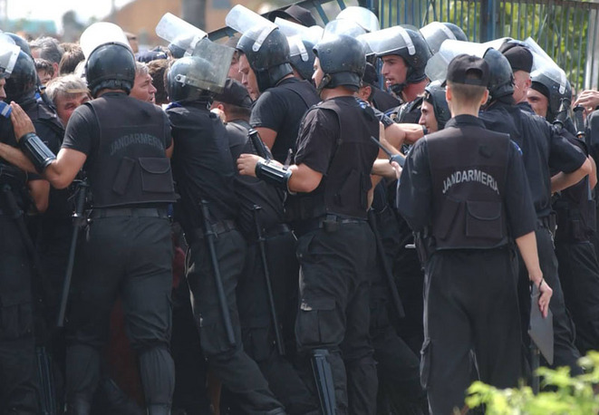 Jandarmeria Română face afaceri cu apropiații lui Sebastian Ghiță