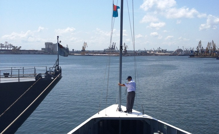 Amiralul Ștefan cel Mare domnește marinărește la frontiere