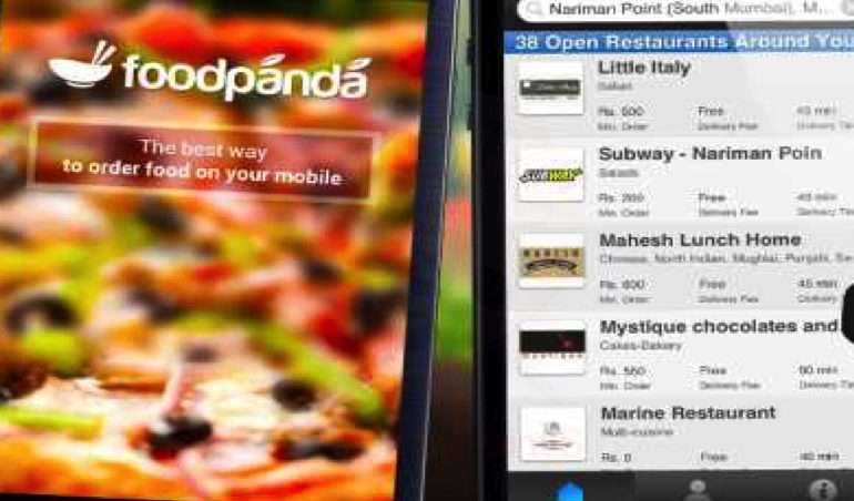 FOOD PANDA și afaceri ZDRANGA